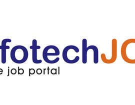 nº 164 pour Logo design for IT Job portal par duttarajesh07