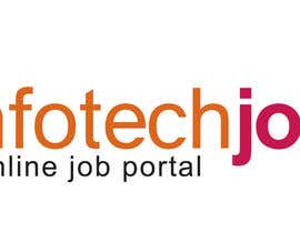#172 para Logo design for IT Job portal por duttarajesh07