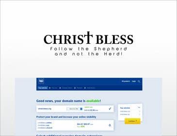 GraphicPlay tarafından Provide a name & tagline for new Christian Society için no 96