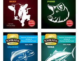 Nro 59 kilpailuun A set of food packaging product designs(frozen foods)- universal packaging käyttäjältä ShijoCochin