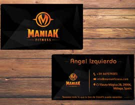 #35 for Design some Business Cards for Maniak Fitness by TheDesignA
