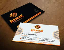 #78 for Design some Business Cards for Maniak Fitness by mamun313