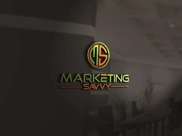 aliciavector tarafından Logo design for Marketing Savvy için no 158