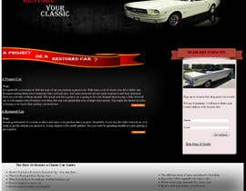#19 cho Design a Website Mockup for Classic Car Restoration Site. Layout provided. Just need your magical touches. bởi davsasas