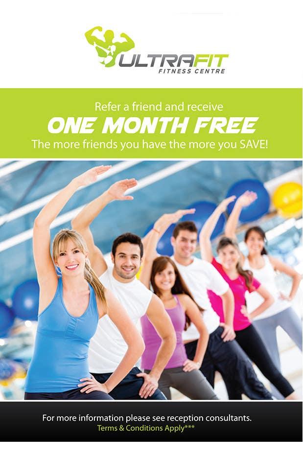 Penyertaan Peraduan #14 untuk Design a Poster for Gym Program