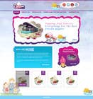 Contest Entry #34 for Yogurt website Home page