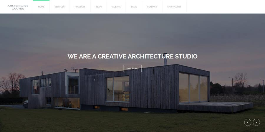#8 for Design a website for architecture company by borderbabe2412