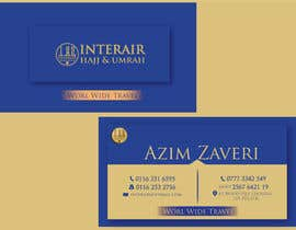nº 12 pour Design some Business Cards for Interair Travel par TheDesignA