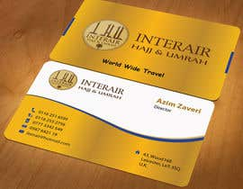 nº 60 pour Design some Business Cards for Interair Travel par mamun313