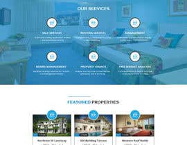 Nro 15 kilpailuun Design a Website Mockup käyttäjältä husainmill
