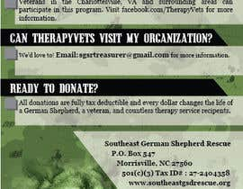 nº 7 pour Design a Brochure for TherapyVets Program par ushansam12