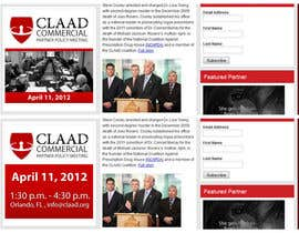 #41 untuk Banner Ad Design for Center for Lawful Access and Abuse Deterrence (CLAAD) oleh ivanbogdanov