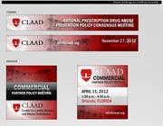 Graphic Design Inscrição do Concurso Nº31 para Banner Ad Design for Center for Lawful Access and Abuse Deterrence (CLAAD)
