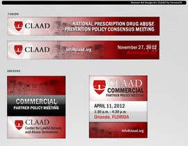 #31 untuk Banner Ad Design for Center for Lawful Access and Abuse Deterrence (CLAAD) oleh fornaxfx