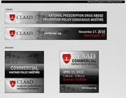 Graphic Design Inscrição do Concurso Nº30 para Banner Ad Design for Center for Lawful Access and Abuse Deterrence (CLAAD)