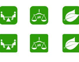 #23 untuk Design 3 Icons for Nutritional Company Website oleh ezesol
