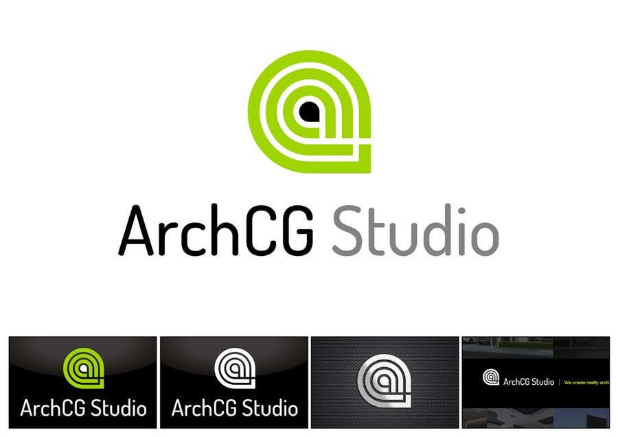 Конкурсная заявка №171 для Logo Design for ArchCG Studio