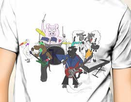 #12 cho Design a T-Shirt for Rockband bởi jackowen23