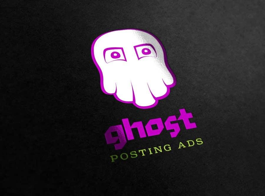 Penyertaan Peraduan #                                        1                                      untuk                                         Logo for Ghost Posting Ads