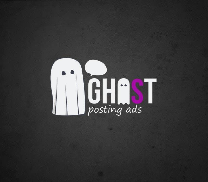 Kilpailutyö #36 kilpailussa Logo for Ghost Posting Ads