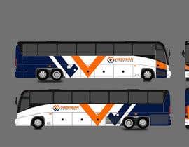 Nro 40 kilpailuun Design a unique look for our buses käyttäjältä venky9291