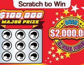 #12 for Design a unique scratch card lottery game. by timefortheweb