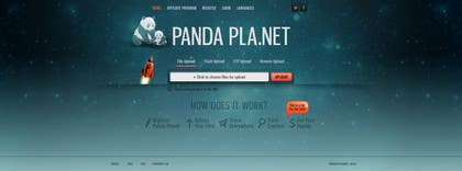 #47 para I need some Graphic Design for Panda Planet por akritidas21