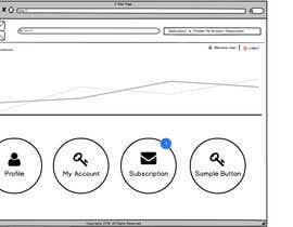 Nro 3 kilpailuun Design a Website Mockup - Only 2 screens käyttäjältä designcreativ