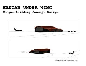 #9 for Hangar Building Concept Design by Dzenic
