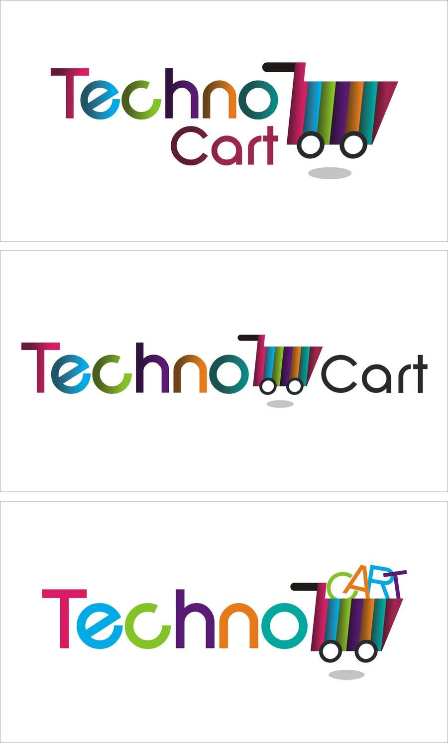 Kilpailutyö #45 kilpailussa Design a Logo for TechnoCart.co.uk