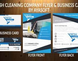 Nro 93 kilpailuun Flyer & business card design käyttäjältä AYASOFT