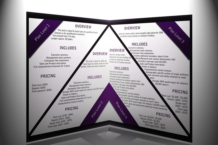 #43 for Brochure Design for Business 360 LLC by d1zzye