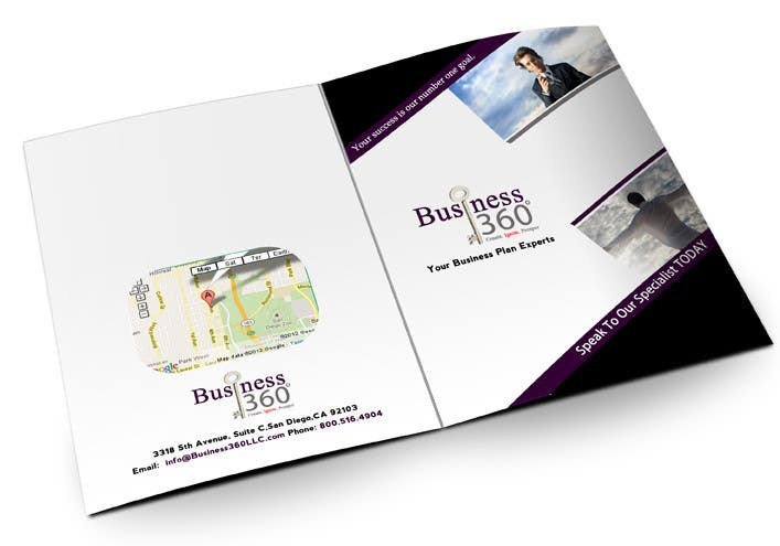 #46 for Brochure Design for Business 360 LLC by creationz2011