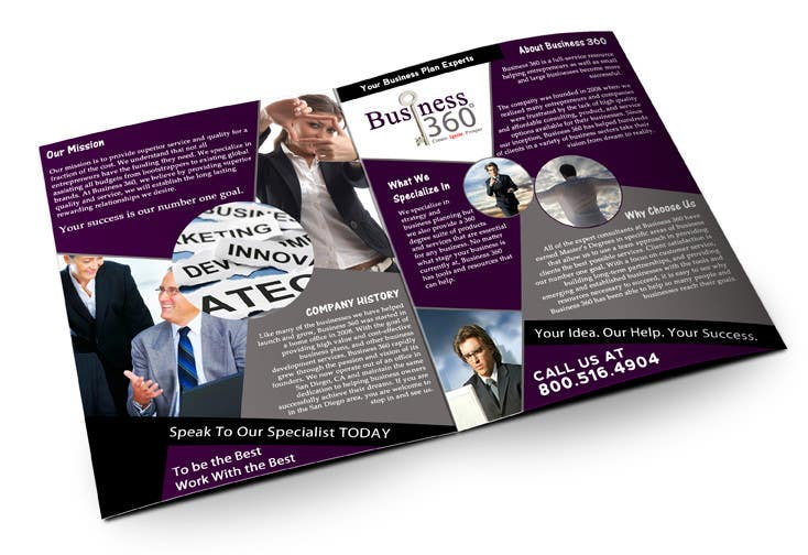 #32 for Brochure Design for Business 360 LLC by creationz2011