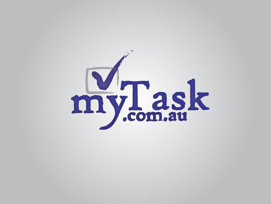 Kilpailutyö #                                        23                                      kilpailussa                                         Logo Design for myTask.com.au