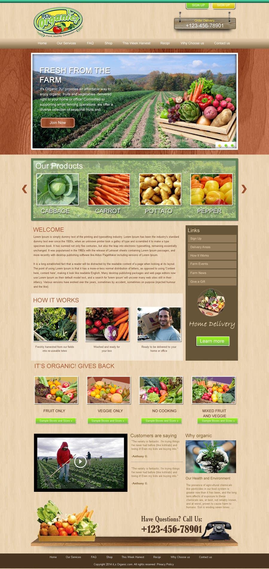 #16 for Wordpress Website Design by webidea12