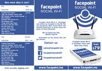 Contest Entry #15 for Design a Flyer for Facepoint Social Wi-Fi Router