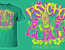 #16 for Psycho Luau logo design by Vrendengard