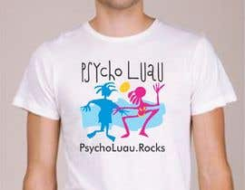 Nro 11 kilpailuun Psycho Luau logo design käyttäjältä VertexStudio1