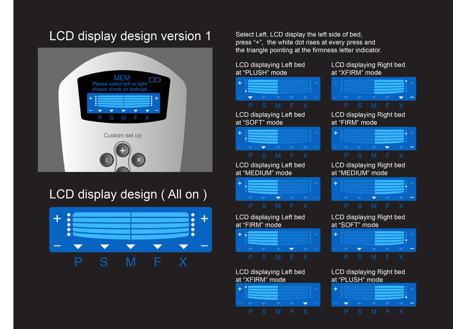 #15 for I need some Graphic Design to improve my current LCD display design for a remote control by davidliyung