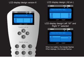 #22 untuk I need some Graphic Design to improve my current LCD display design for a remote control oleh davidliyung