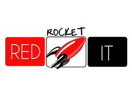 #306 para Logo Design for red rocket IT por taliss