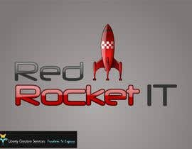 #149 para Logo Design for red rocket IT por maveric1