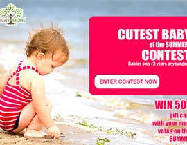 #18 cho Design a Banner for Cutest Baby Contest bởi thecodersmart