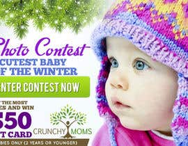 #6 untuk Design a Banner for Cutest Baby Contest oleh mayerdesigns