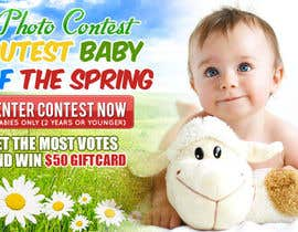 #20 untuk Design a Banner for Cutest Baby Contest oleh mayerdesigns