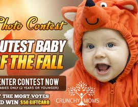 #22 untuk Design a Banner for Cutest Baby Contest oleh mayerdesigns
