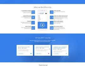 Nro 47 kilpailuun Design a Website Mockup käyttäjältä bellalbellal25