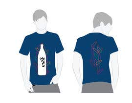 #12 for Design a t-shirt for milkyshirt by roopfargraphics