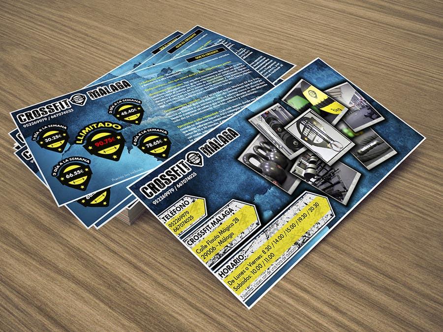 Kilpailutyö #22 kilpailussa Design a flyer for Crossfit Malaga